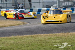 91 Spice, GTP1 and 87 Porsche 962 C, GTP1