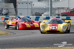 67 Lola T-70 MkIIIB, 3A and 85 Argo JM19, GTP4