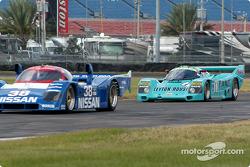 90 Nissan GTP 90-07, GTP1 and 87 Porsche 962, GTP2