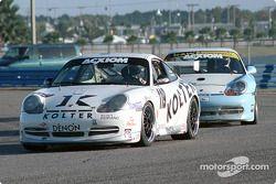 #119 Doncaster Racing Porsche GT3 Cup: Robert Julien, Greg Pootmans, Dave Lacey
