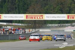 Départ : Pierre Kleinubing prend la tête de la course
