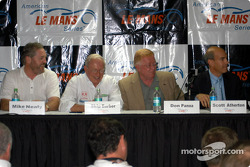 ALMS press conference: Mike Nearly, Skip Barber, Don Panoz and Scott Atherton