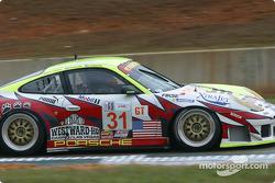#31 White Lightning/Petersen Motorsports Porsche 911 GT3RS: Michael Petersen, Johnny Mowlem, Craig Stanton