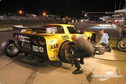Pitstop practice at Corvette Racing