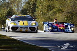 #63 ACEMCO Motorsports Ferrari 360 Modena: Shane Lewis, Terry Borcheller, Darren Law, et #37 Intersp
