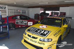 Le garage Garry Rogers Motorsport