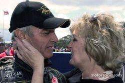 Race winner Peter Brock