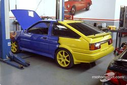 One race ready Toyota Leven