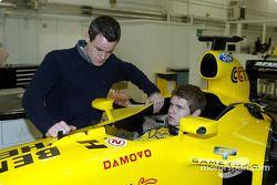 Jaroslav Janis has a seat fitting Jordan EJ13