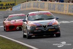 #156 Andrew Leithhead Alfa Romeo 156 GTA: Andrew Leithhead, Peter Doulman, Keith Downie, Kean Booker
