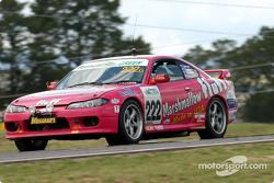 #222 Haysom Motorsport Nissan 200SX GT: Hugh Harrison, Richard Catchlove, Mike Kilpatrick, Damian Johnson