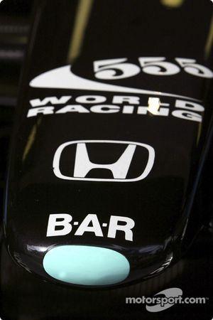 detay, 2004 BAR-Honda development Car