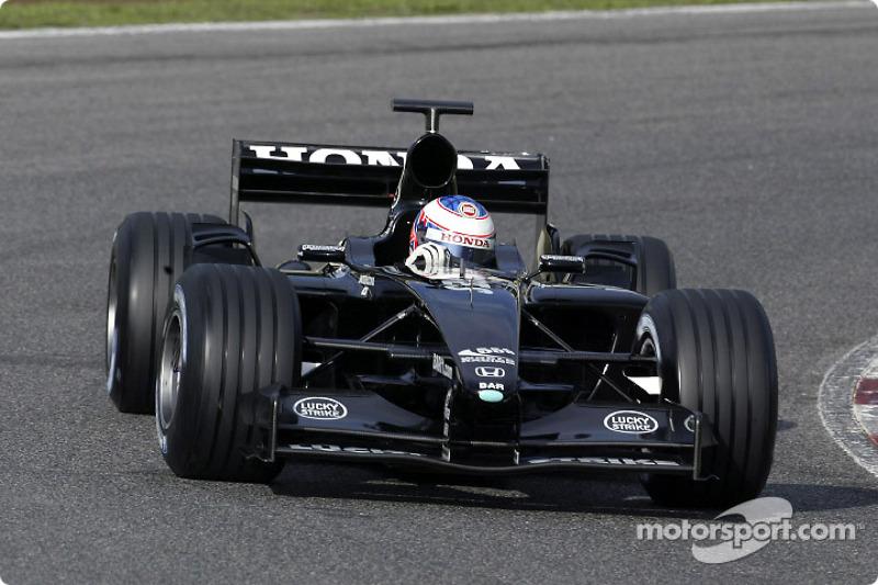2003: Teste com a BAR