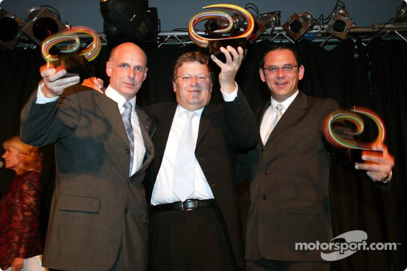 Volker Strycek, Norbert Haug and Hans-Jürgen Abt