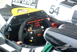 Le cockpit de la #8 Racing for Holland Dome Judd S101
