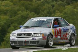 l'Audi S4 n°04 de l'équipe Istook/Aines Motorsport Group pilotée par Don Istook, Paul Zube
