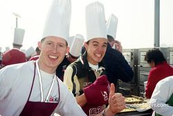 Ryan Briscoe et Cesar Campanico