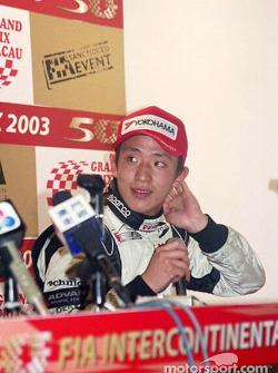 Conférence de presse : Tatsuyuki Hiranaka