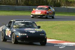 #98 Nuzzo Motorsports Mazda Miata: Michael Ellis, Donald Jacobs