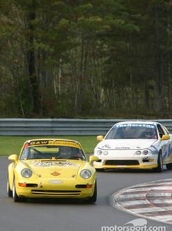 #01 G&W Motorsports Porsche 993: Armando Trentini, Andres Van Der Dys