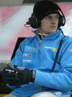 Renault F1 RDD pilotu Heikki Kovalainen
