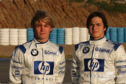 Nico Rosberg ve Nelson A. Piquet