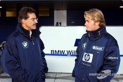 Dr Mario Theissen ve Nico Rosberg