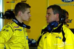 Jaroslav Janis ve Jordan mühendis Dominic Harlow