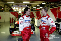 RiCardo Zonta ve Ryan Briscoe