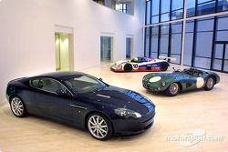 Aston Martin returns to motor racing and creates a new division to be known as Aston Martin Racing