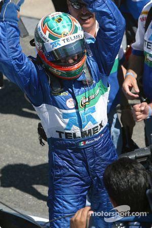 Memo Rojas célèbre sa victoire