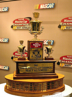 The last Winston Cup Trophy was awarded to Matt Kenseth