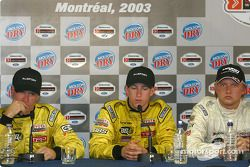 Press conference: race winner A.J. Allmendinger with Ryan Dalziel and Aaron Justus