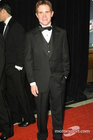 Brian Vickers, rookie de l'année des Busch Series