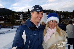 Ralf Schumacher et sa femme Cora