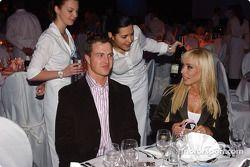 Fête BMW Motorsport : Ralf Schumacher et sa femme Cora