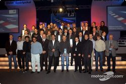 BMW Motorsport party: the prize winners and VIPs