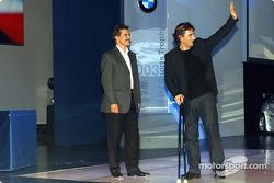BMW Motorsport party: Dr Mario Theissen ve Alex Zanardi