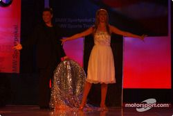 BMW Motorsport party: Russian entertainers