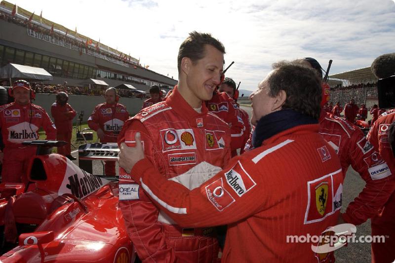 Michael Schumacher y Jean Todt