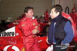 Jean Todt avec René Arnoux