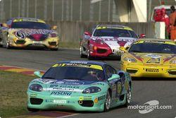 Ferrari 360 Challenge Pirelli Trophy race 1, Thomas Kemenater