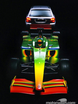 Jaguar Formula One Art of Speed specially created by Pininfarina and Jaguar