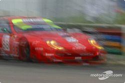 Impressionist view of the #88 Prodrive Racing Ferrari 550 Maranello: Tomas Enge, Peter Kox