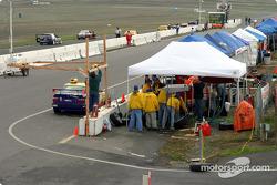 Final pitlane setup before the race