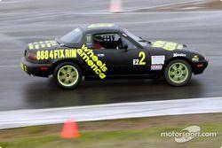 La n°2 de l'équipe Wheels America pilotée par Robert Stretch, Ara Malkhassian et Ken Murillo