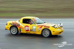 La n°13 de l'écurie Protomotive pilotée par Scott Webb, Jim Jordan, Joe Jordan et Johnny Kanavas