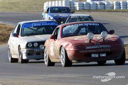 La n°21 du Elder Benner Motorsports pilotée par Justin Elder, Christian Elder et Manny Matz