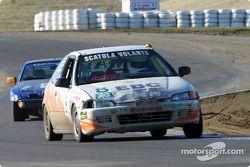 #8 Scuderia Scatera Volante: Vinnie Faraci, Steve Mulvey, Ralph Alexander, Dennis Bainbridge