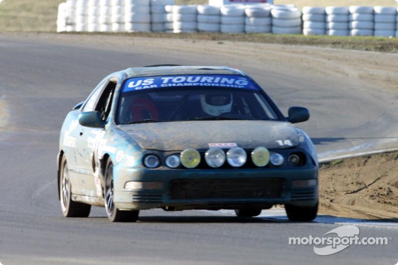 La n°14 de USA/Speedy Motorsports pilotée par Gordon Pun, Richard Woo, William Dockery Jr., Tom Milburn